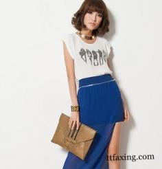 宝蓝色裙子搭配方法推荐 时尚达人必知搭配法则