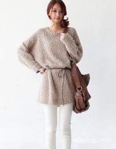 长款毛衣怎么搭配显瘦不臃肿