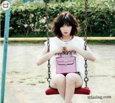 韩国明星夏季时尚街拍 狂野小女人味走俏