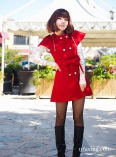冬季超短连衣裙搭配 让你拥有美丽气质