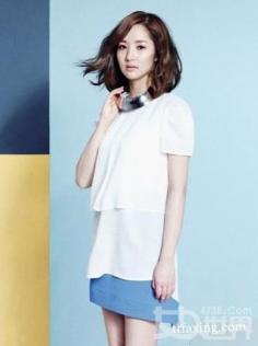 韩国明星写真照片盘点 清凉搭配超显瘦