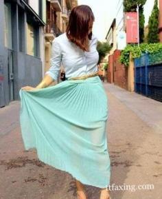 夏日不减肥 小编支招腿粗的人穿什么裙子好看