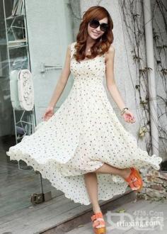 夏日甜美连衣裙搭配 漂亮凉快美美出街
