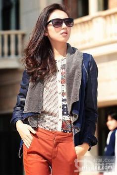 秋装外套搭配 打造属于你的时尚造型