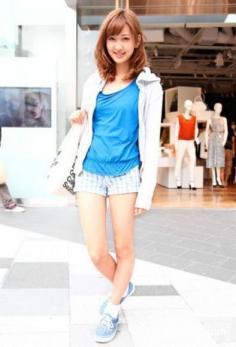 时尚女装短裤搭配 尽情演绎热辣时尚