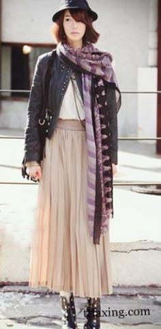 波西米亚长裙搭配尽显女人魅力