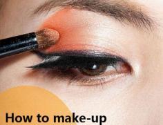 橘色水果妆的画法分享 甜橙橙色超加分