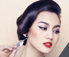复古妆容画法分享 玩转时尚复古风